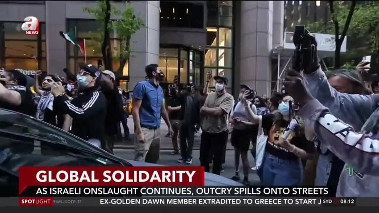Large rallies held across the world in solidarity with Palestinians
