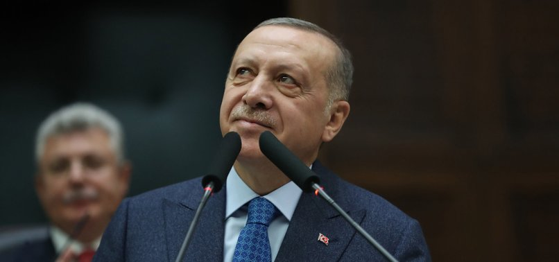ERDOĞAN SAYS TURKEY WILL OVERCOME CORONAVIRUS OUTBREAK WITHIN TWO TO THREE WEEKS THROUGH MEASURES