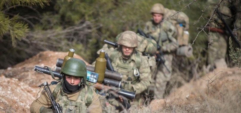 PKK TERRORISTS DEALT HEAVY BLOW IN ANTI-TERROR OPERATIONS IN APRIL