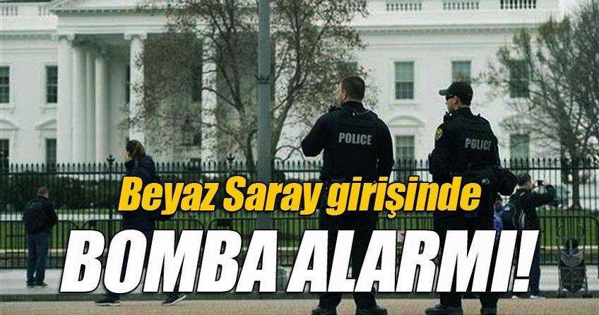 Beyaz Saray girişinde bomba alarmı