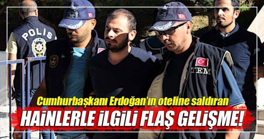 Erdoğan'ın oteline saldıran hain darbecilerle ilgili yeni gelişme