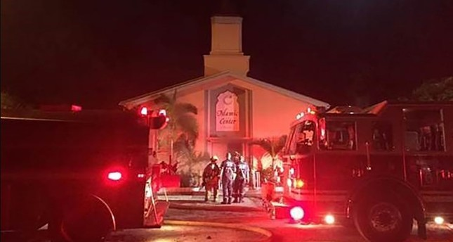 Arsonist attacks mosque attended by Orlando shooter before Eid celebrations