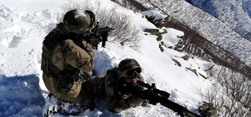 TURKISH FORCES DESTROY 11 YPG/PKK TERRORIST SHELTERS