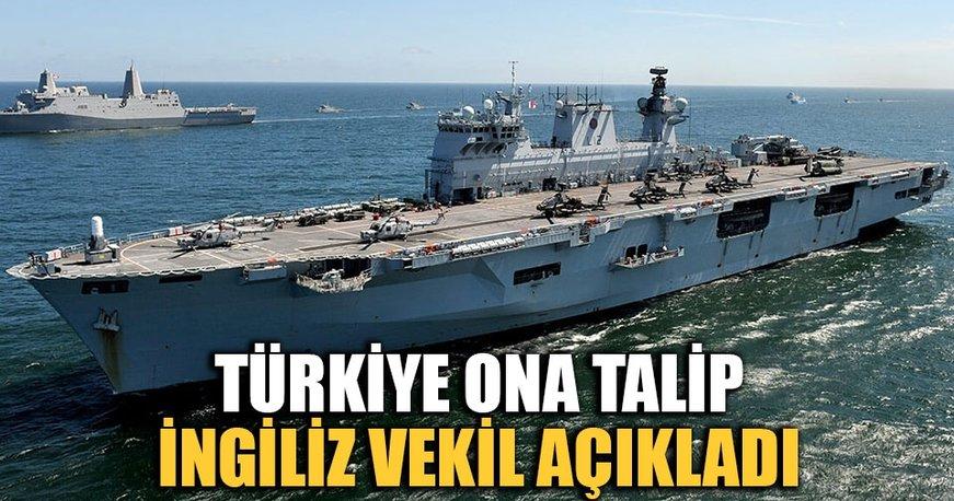 Türkiye, İngiliz gemisine talip