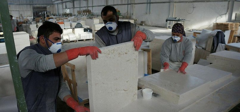 TURKEY'S MARBLE EXPORT OVER $1.4B IN 2018