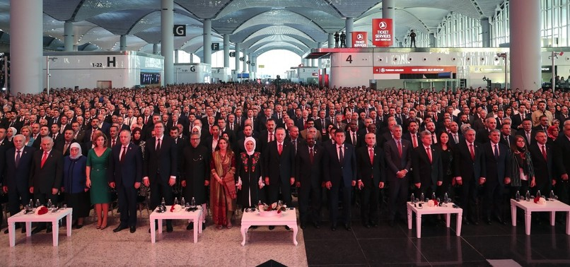 ISTANBUL AIRPORT OPENS WITH GRAND CEREMONY ON REPUBLIC DAY, REINFORCING TURKEYS KEY ROLE FOR GLOBAL ECONOMY