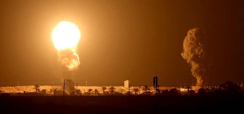 ISRAEL STRIKES GAZA AFTER ROCKET FIRE DURING SIGNING CEREMONY OF NORMALIZATION AGREEMENTS AT WHITE HOUSE