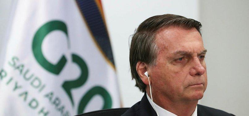 BOLSONARO SLAMS UNJUSTIFIED ATTACKS OVER AMAZON DEFORESTATION