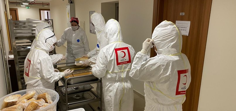 TURKISH RED CRESCENT FEEDS THOUSANDS IN QUARANTINE