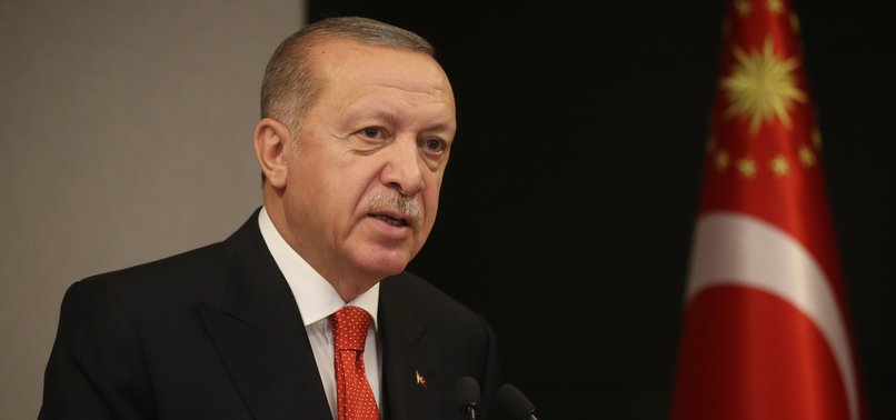 TURKEY NOT TO ALLOW PALESTINIAN LANDS TO BE OFFERED TO ANYONE ELSE: ERDOĞAN