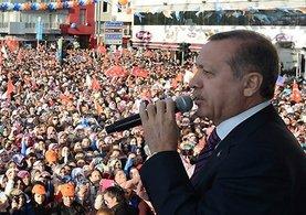 Erdoğan: ''Biz kendi oyunumuzu oynayacağız.''