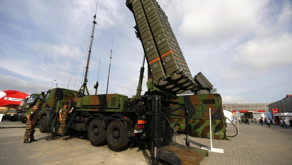 Anti-missile system SAMP-T in southern Poland, 2 September 2014 (Reuters Photo)