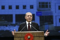 President Recep Tayyip Erdoğan Tuesday said the economy was being used as a weapon to attack Turkey and urged financial institutions, particularly banks, to open the credit flow to facilitate...