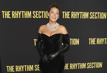 Blake Lively The Rhythm Section'ın galasında!