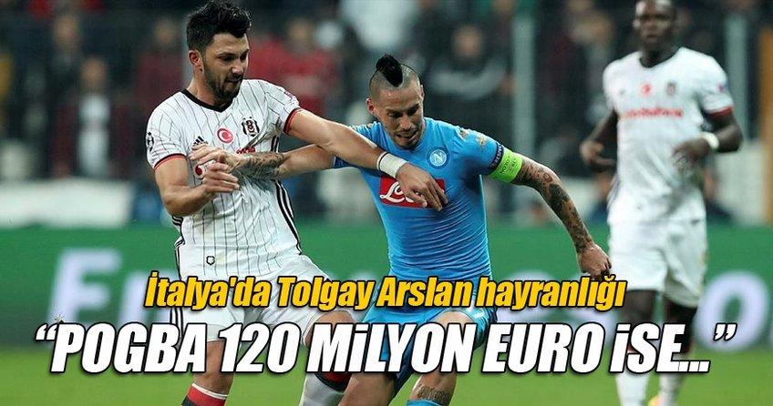 İtalya'da Tolgay Arslan hayranlığı!
