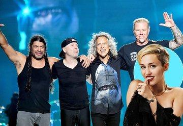 Miley Cyrus'tan Metallica cover albümü