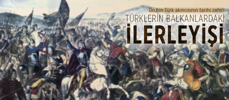 Türklerin Balkanlardaki ilerleyişi