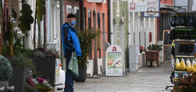 DAILY VIRUS CASES IN GERMANY HIT NEW RECORD