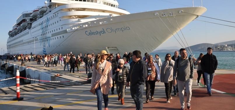 CRUISE PORT IN TURKEYS AEGEAN TO HOST 195 CRUISE SHIPS