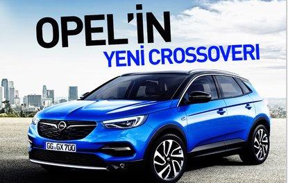 Opel'in yeni crossoverı