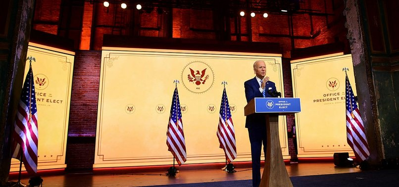 BIDEN: WERE AT WAR WITH VIRUS, NOT WITH ONE ANOTHER
