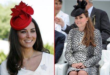 Cambridge Düşesi Kate Middletonın şapka seçimleri