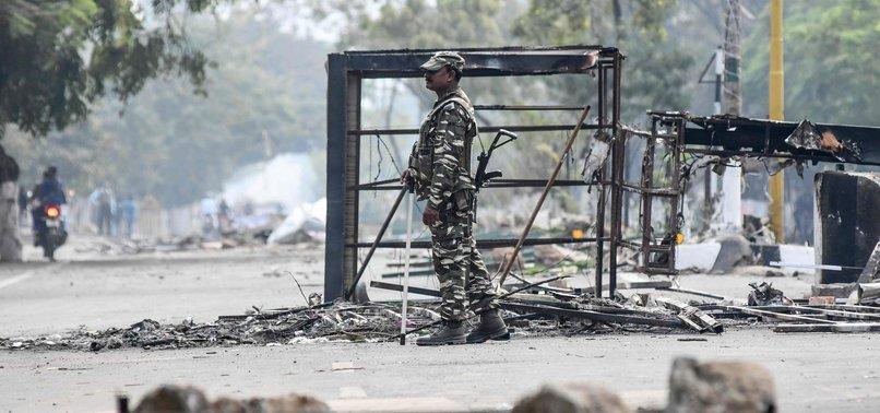 INDIAS NORTHEAST TURNS INTO BATTLEGROUND AMID PROTESTS