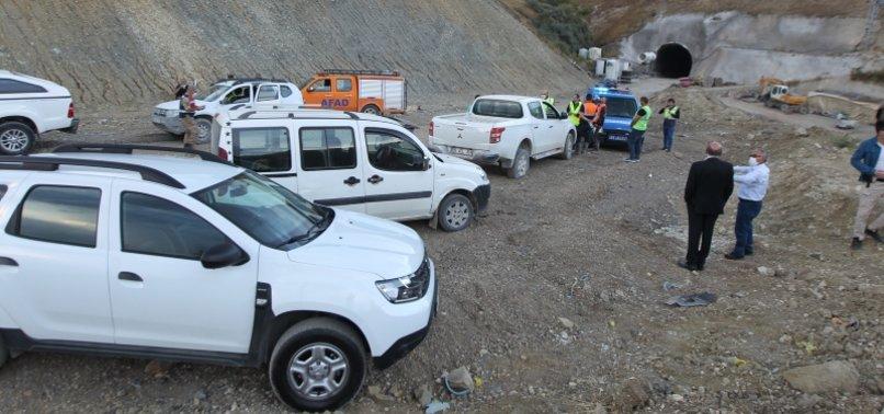 TUNNEL BLAST LEAVES 11 INJURED IN NORTHEASTERN TURKEY