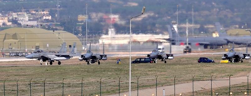 Incirlik Air Base, Adana, Turkey. (Takvim Photo)