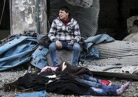 Katil Esad Halep vatandaşlarını katlediyor