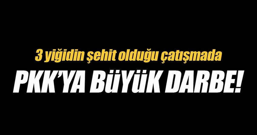 Hakkari'deki çatışmada 7 PKK'lı terörist öldürüldü