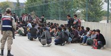 Over 1,000 undocumented migrants held across Turkey