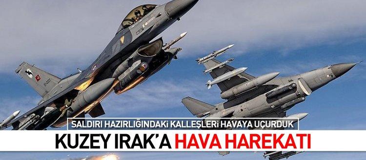 PKK hedefleri yerle bir edildi!