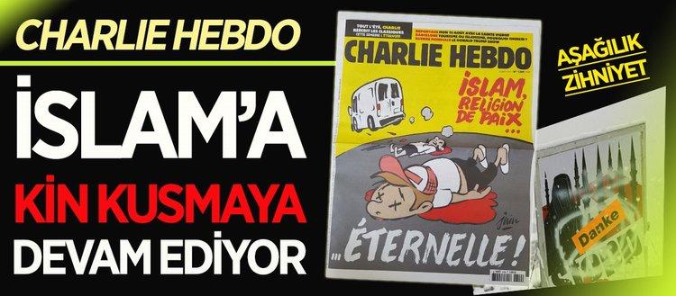 Charlie Hebdo İslam'ı hedef almaktan vazgeçmiyor