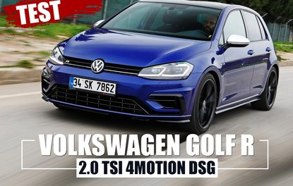 TEST · VW GOLF R 2.0 TSI 4MOTION DSG