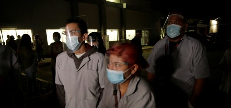 MEXICO REPORTS 5,948 NEW CORONAVIRUS CASES, 464 MORE DEATHS