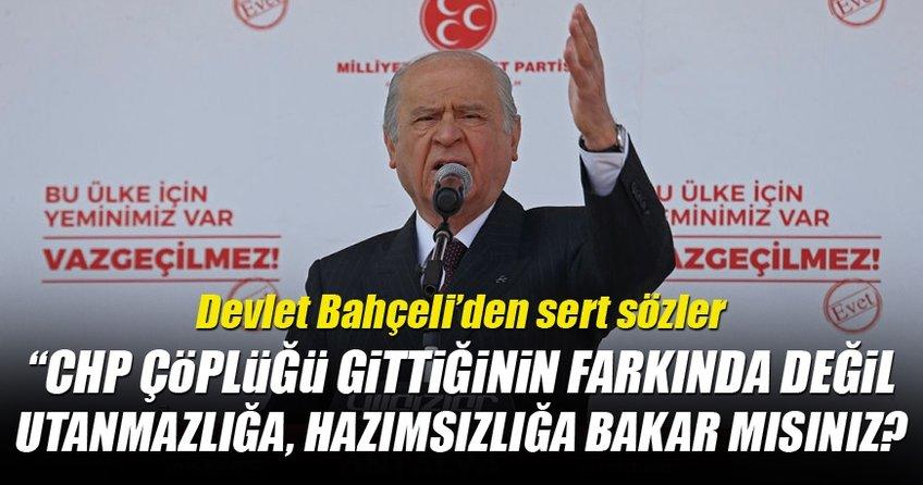 Devlet Bahçeli, Kılıçdaroğlu'nun CHP'sine çok sert sözler!