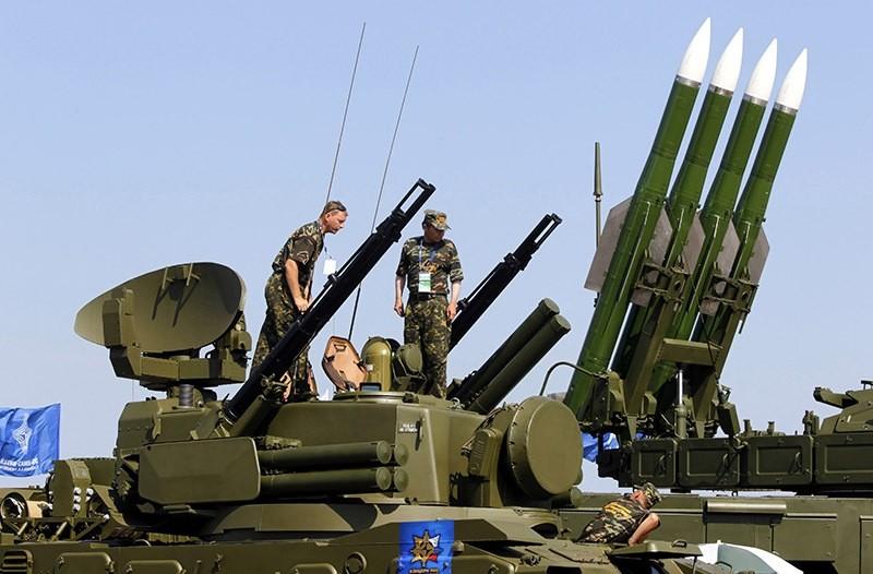 Russian rocket system. (EPA Photo)