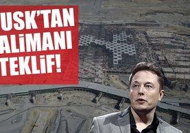 Elon Musk'tan 3. havalimanı hamlesi!