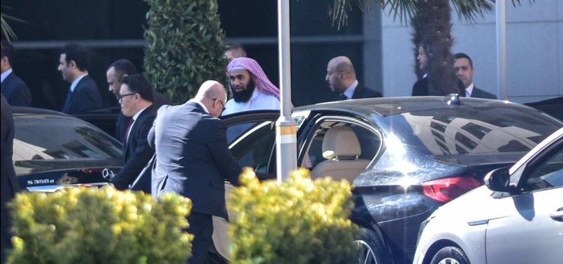 SAUDI PROSECUTOR VISITS ISTANBUL COURT HOUSE IN KHASHOGGI INVESTIGATION
