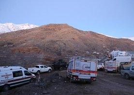 Siirt'teki maden ocağında ki son işçinin cenazesine ulaşıldı