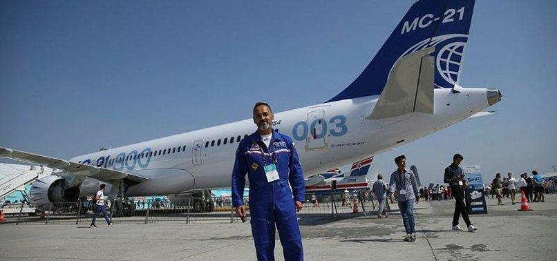 RUSSIAN PLANE DEBUTS INTERNATIONAL FLIGHT FOR TEKNOFEST