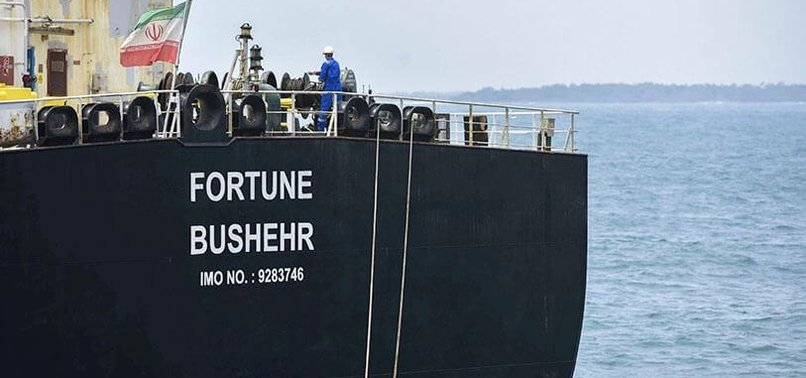 IRAN SHIPS TANKERS CONTAINING 1.4 MILLION BARRELS OF CRUDE OIL TO SYRIA