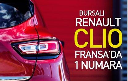 BURSALI RENAULT CLİO FRANSA'DA 1 NUMARA