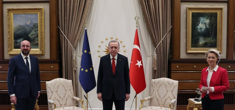 EU DIPLOMATS POINT OUT TURKEY IS NOT RESPONSIBLE FOR SOFAGATE