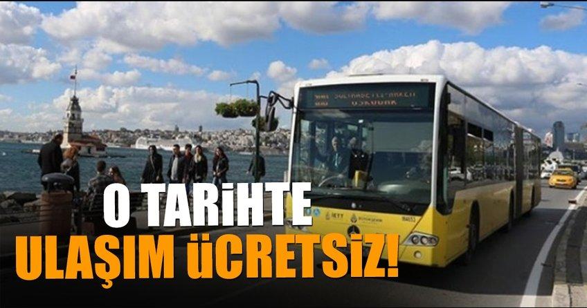 İstanbul'da Eğitim yılının ilk gününde ulaşım ücretsiz