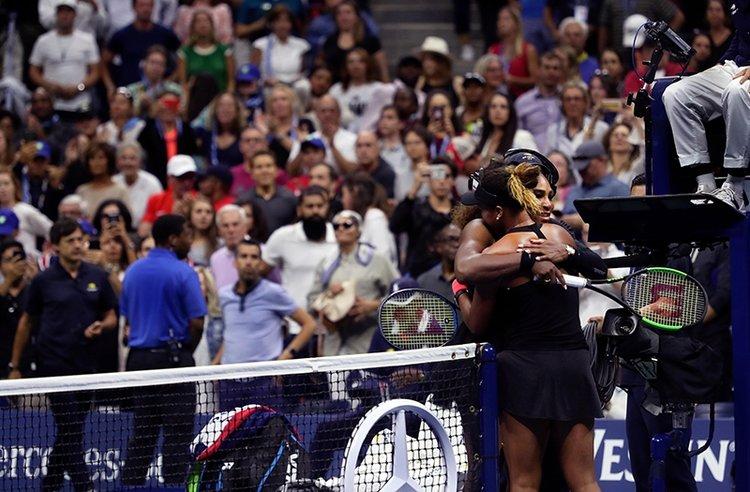 Esquire Best of 2018 Spor: Serena Williams & Naomi Osaka