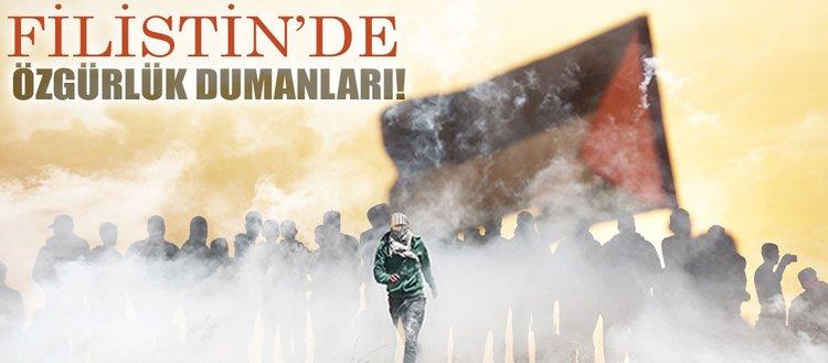 Filistin'de özgürlük dumanları!
