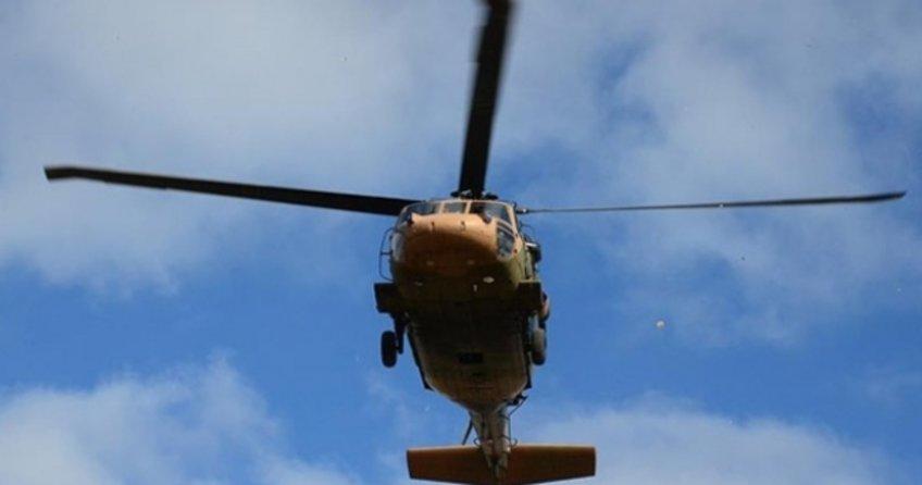 Ege'de askeri helikopter düştü!