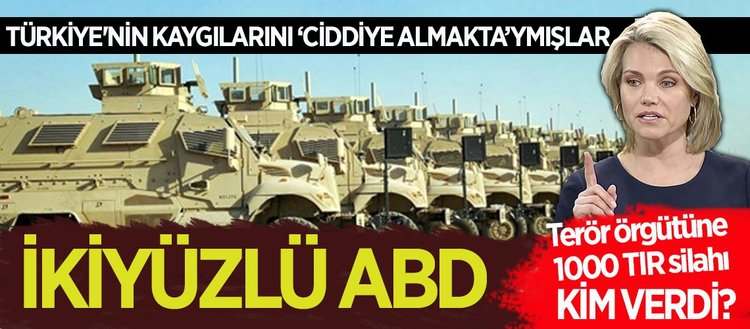 ABD Türkiyenin kaygılarını ciddiye almaktadır